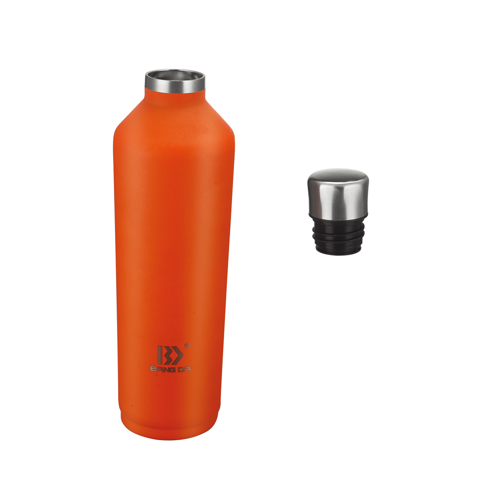 Vacuum Bottle That Keeps Beverage Hot And Cold